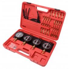 Carburetor synchronizer and adjustment tool kit