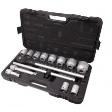 Tool set 14pcs 3/4'', 6 point (22,24,27,30,32,36,38,41,46,50mm)
