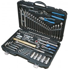 Tool set 107pcs 1/4''and 1/2''(6 point, 4-32mm)