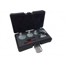 Belt tool kit for elastic ribbed belts 8pcs, in a case ''Premium''