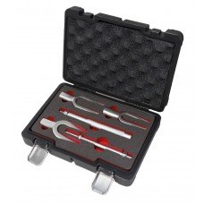 Set of ball joint separators ''Fork'', 5pcs (jaw size: 17.4, 23.8, 28.5), in a case ''Premium''