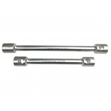 Double ended wheel nut wrench, reinforced, 30x32 L-400mm (12S.0003032)