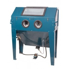 Sandblasting chamber with electric motor for air purification 220V (volume-420L,340l/min, pressure 3