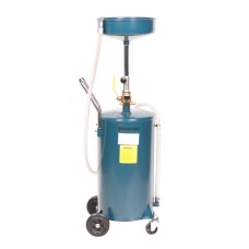 Oil drainer with funnel 68L