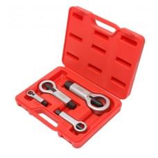 Nut splitter set 4pcs, (9-12, 12-16, 16-22, 22-27mm), in a case