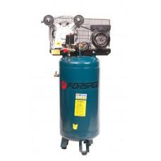 Double piston belt driven vertical air compressor 100 L (2.2kW, receiver 100L, 250 l/m, 220V)