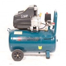 Piston air compressor with direct drive 50L (1.86kW, receiver 50L, 180 l/m, 220V, weight 25 kg)