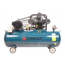 Triple piston belt driven air compressor 300L (7.5kW, receiver 300L, 900 l/m, 380V,10bar)