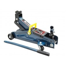Floor jack 2T with rotary handle 180° (h min 140mm, h max 340mm,weight 10 kg), in a case