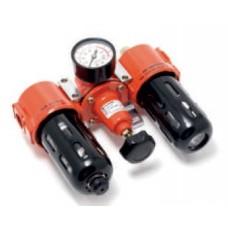 Air preparation unit (filter 5mkm + regulator + oil regulator) 1/4''(0-10bar)