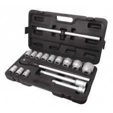 Tool set 16pcs 3/4'', 6 point (17,19,21,24,27,30,32,33,36,38,41,46,50)