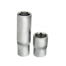 Flank socket 10mm 1/4''6 point