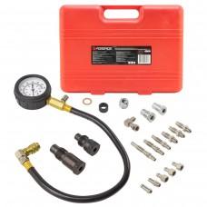 Diesel engine compression tester kit (glow plug: M18х1.5х30mm - 2pcs, M10х1.25х68mm, M10х1.0х68mm, M