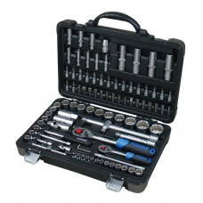 Tool set 94pcs, 1/4''and 1/2'', 12 point, 4-32mm