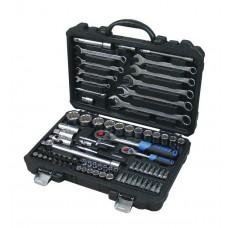 Tool set 82pcs 1/4'', 1/2'', 12 point, 4-32mm