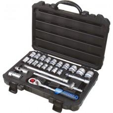 Tool set 24pcs 1/2''(6 point, 10-32mm)