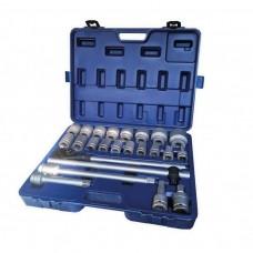 Tool set 24pcs 3/4'', 12 point (17,19,21,22,24,27,30,32,33,34,35,36,38,41,46,50)