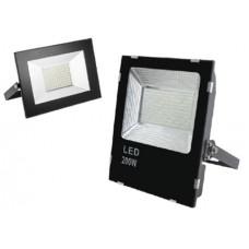 Прожектор светодиодный iMAX, 200W, 1800lm, 6400K, AC85-265V, 50/60 Hz, PF>0,9, IP65, 120град, черный корпус