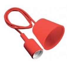 Светильник подвесной MINIO (для ламп Е27, max 60W, IP20, AC220-240V, кабель 1м, красный)