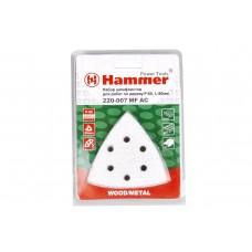54498 Набор шлифлистов Hammer Flex 220-007 MF-AC 007 Р 60 по 5 шт. по краске, 80 мм
