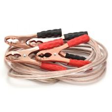 Стартовые провода КВС-400AMP прозрачная изоляция в сумке