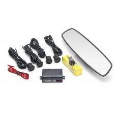 Парковочный сенсор E55 4-датчика с зеркалом