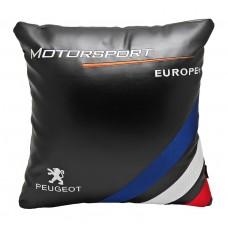 Подушка PEUGEOT Motorsport 36*36см