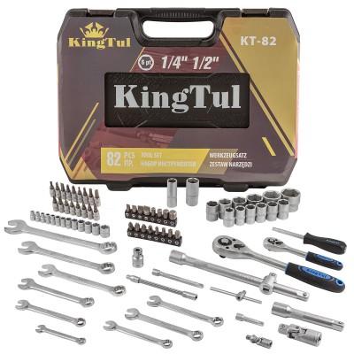 Tool set 82pcs 1/2'',1/4'', 6 point, 4-32mm