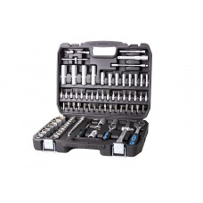 Tool set 94pcs 1/2'', 1/4'', 6 point, 4-32mm