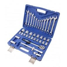 Tool set 37pcs 1/2'', 6 point, 8-32mm