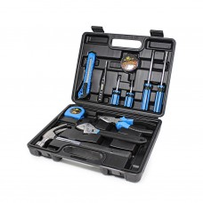 Set of metalworker's tool 12pcs (hammer, screwdrivers, Combination pliers)
