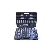 Tool set 172pcs, 1/2'', 3/8''and 1/4'', 6 point, 4-32mm