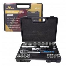 Tool set 22pcs 1/2'', 6 point, 8-32mm