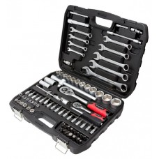 Tool set 82pcs 1/2'', 1/4'', 6 point, 4-32mm