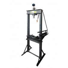 Shop press 20T, table-top jack type ''Profi''(operating height: 0-820mm, operating width: 520mm, wor