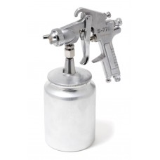 High pressuer spray gun, bottom feed, metal tank (1000ml, 2.5mm, 5 bar, 85-113 l/min, joining thread
