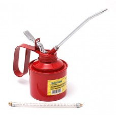 Metal oilcan with flexible and rigid spouts 350ml