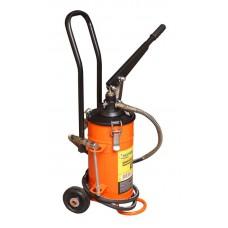 Manual grease lubricator + repair kit for rod gear 5kg (hose length 2m)