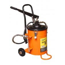 Manual grease lubricator + repair kit for rod gear 10kg (hose length 2m)