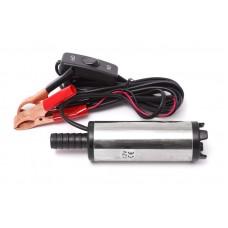 Fuel transfer pump (12V, Ø 38mm, power 40W, 20 l/min, outlet Ø 16mm, 8500 rpm, cable length 3m)