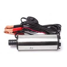 Fuel transfer pump (12V, Ø 51 mm, power 60W, 30 l/min, outlet Ø 19mm, 8500 rpm, cable length 3m)