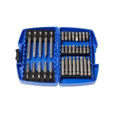 Set of bits 34pcs, in a plastic case