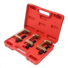 Set of ball joint and tie rod end separators 3pcs (jaw size - 28, 29, 40mm), in a case