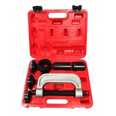 Ball joint, bearing and silent block removal and installation kit 9pcs, in a case