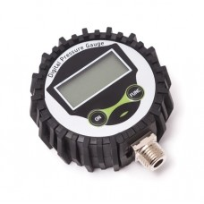 Digital tire gauge inlet