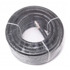Rubber air hose reinforced with fittings 6*12mm*10m
