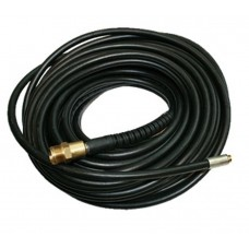 Rubber air hose reinforced with fittings 8*15mm*5m