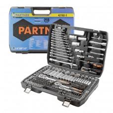 Tool set 218pcs 1/4'', 1/2'', 3/8''(6 point, 4-32mm)