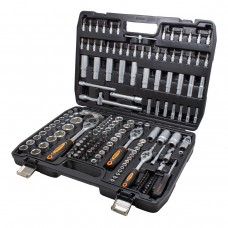 Tool set 172pcs 1/4'', 1/2'', 3/8''(6 point, 4 - 32mm)