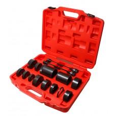 Silent block puller tool set BEN Z, BMW 15pcs (m10, m12), in a case